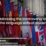 Addressing the controversy over the language skills of students